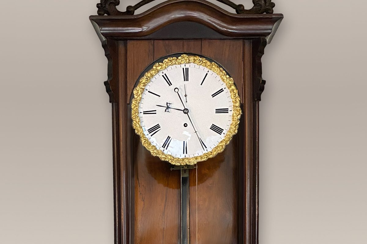 late biedermeier vienna regulator